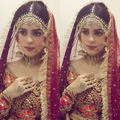 Pakistani bridal jewelry. Sumbul Khan