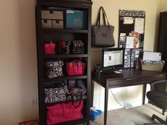 My Thirtyone office organized with Thirtyone products!!