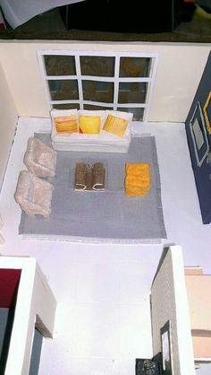 Sala #diseño #interiores #maquetas