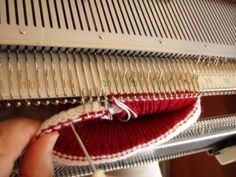 Beginning Machine Knitting Course. Free. Great website. More