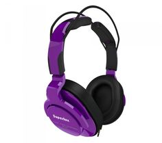 Superlux HD661 fioletowe - Słuchawki - Satysfakcja.pl - słuchawki do telefonu / słuchawki w podróży - Kolorowe słuchawki :)