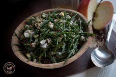 Salade van zeekraal met sesam
