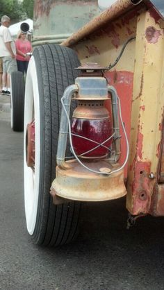 Rat Rod tail light.