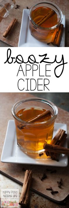 Boozy Apple Cider - This Boozy Apple Cider is the best hot drink you ...