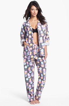 PJ Salvage Macaron Print Flannel Pajamas Christmas morning starts in your PJs! PJ Salvage Flannel Pajamas- in cute prints! Best Family Christmas Pajamas, Matching Christmas Pajamas, Cozy Pajamas, Flannel Pajamas, Pyjamas, Girls Fleece, Pajamas Women, Holiday Outfits, Pajama Set
