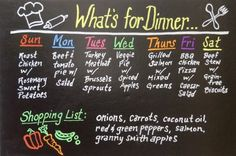 Wonder Chalk Liquid Chalk Markers work great on vinyl chalkboard labels & contact paper and wipe off easily.  I created this menu board by putting vinyl chalkboard contact paper onto a piece of foam board from the craft store.