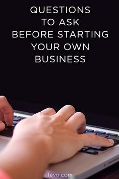 Thinking about starting your own business? AWESOME! Just make sure to answer these questions first.
