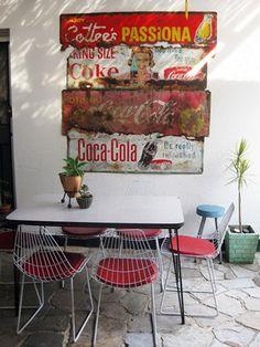 vintage dining-room