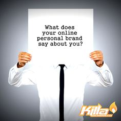 A personal brand is essentially the ongoing establishment of a prescribed image or impression in the mind of others about an individual, group or organization. How good have you established your online personal brand? visit http://www.killadesigns.co/ to know about different ways we can build you brand recognition on the online market.