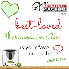Top Thermomix recipe sites for cook using &