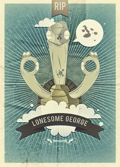 LONESOME GEORGE by Miguel Bencomo, via Behance