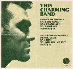 This charming band gig poster