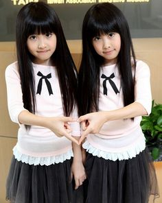 Beautiful Twins from Taiwan