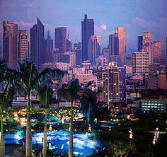 Manila, Phillipines - Where first world and third world rub shoulders every day.