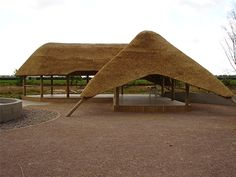 Commercial Garden Building and Thatch Projects by the Lapa Company Thatched House, Thatched Roof, Vernacular Architecture, Roof Architecture, Garden Office Shed, Garden Pavillion, Round House Plans, Backyard Covered Patios, Gazebo Plans