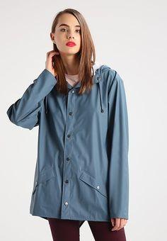 Bestill Rains Parka - blau for kr 749,00 (26.09.17) med gratis frakt på Zalando.no