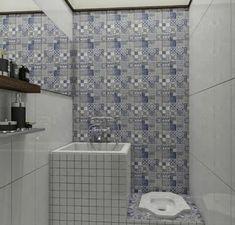 Bathroom Tile Designs, Bathroom Design Small, Simple Bathroom, Bathroom Interior Design, Bathroom Layout, Minimalist Bathroom Design, Minimalist Home, Tiny House Bathroom, Dream Bathrooms