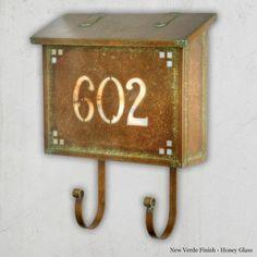 Pasadena 5 Numbers Mailbox - Large