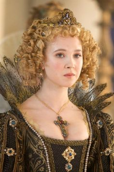 """Queen Anne of France in The Three Musketeers.    Actually, she is Anne of Austria, queen of France. She was the wife of king Louis XIII and mother of """"le roi soleil"""" Louis XIV."""