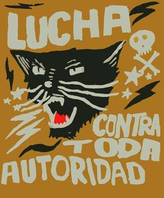 'Fight against all authority! Protest Posters, Political Posters, Political Art, Graphic Design Illustration, Illustration Art, Arte Punk, Son Chat, Propaganda Art, Power To The People