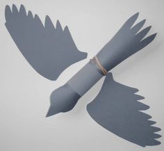 How to make the Falcon:  Make a Flying Falcon- Paper Tube Craft and Game