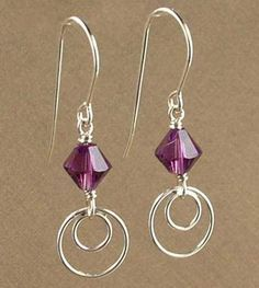 Simple and modern come together to create an aura of sophistication in this Amethyst earring kit. These earrings combine two...