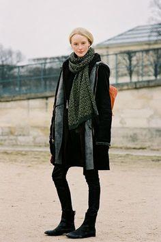 Paris Fashion Week AW 2013....Edythe