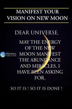New Moon Rituals, Full Moon Ritual, Moon Spells, Witch Spell Book, Sigil Magic, Spiritual Manifestation, Love Energy, Moon Magic, Magick