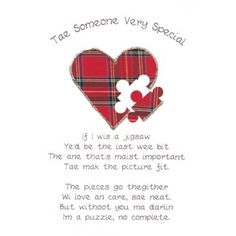 Scottish engagement gifts google search jean pinterest tae someone special m4hsunfo