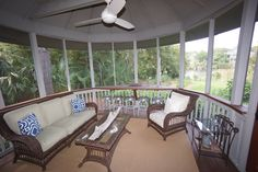 Renovated Outdoor Living Space from our Award Winning Whole House Remodel in Kiawah Island, SC