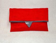 Clutch Stofftasche von Pirkko auf DaWanda.com