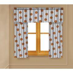 Ncaa Clemson Tigers Window Curtain Panels, Orange