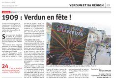 Le tout nouveau magazine de Connaissance de la Meuse fait la part belle à la capitale de la Paix. Notamment avec une relation des Grandes fêtes de Verdun en 1909.