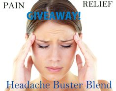 Headache Buster Blend of Essential Oils.