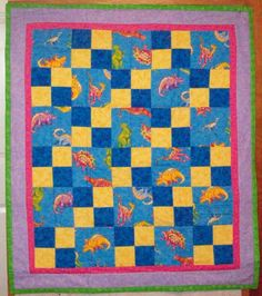 Scrap-Happy Quilter: Quilts For Kids made by Eileen from a LQFK kit