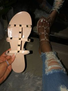 BARBIE DOLL LIGHT Tan open toes BOHO FRINGED STYLED sandals