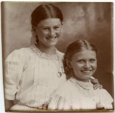 "Sweet girls from the ""Smiling Victorians"" flickr album"