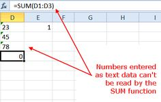 Convert Text to Numbers with Excel Paste Special: Convert Imported Data from Text to Number Format