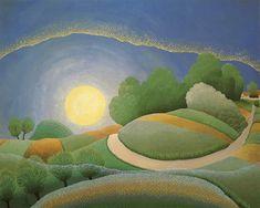 """Dawn"" by Ivan Rabuzin Ivan Rabuzin, Illustrator, Art Beat, City Museum, Naive Art, Bo Bartlett, Outsider Art, Fantastic Art, Figure Painting"