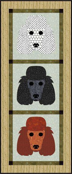 Poodle Dog Applique | Craftsy