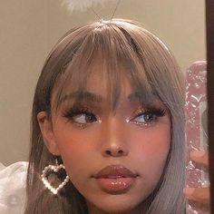 Edgy Makeup, Beauty Makeup, Hair Makeup, Hair Beauty, Cool Makeup, Baddie Makeup, Minimal Makeup, Elegant Makeup, Makeup Eyeshadow
