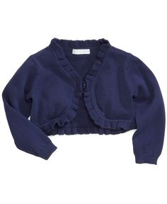 First Impressions Baby Girls' Ruffle Cardigan - Kids Baby Girl (0-24 months) - Macy's 29.50