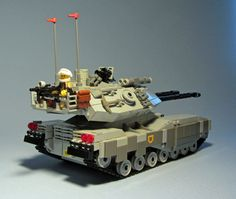 """""""United Earth Federation Ground Arm - M61B3 Main Battle Tank (rear)"""" by FateHeart: Pimped from Flickr"""