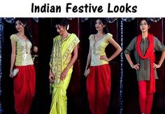 Indian Fashion Youtuber - Festive Looks by Sarita Upadhyay