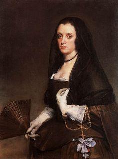 Diego Velazquez,La Dama del Abanico,1635.
