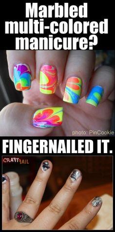 nail fail NAILED IT Should've used Jamberry! Visit http://mizzou.Jamberrynails.net #jamberry #nailart #fail