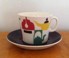 Figgjo a la carte - kopp - loppispris - Selges av fra Oslo på QXL. Oslo, Tableware, Glass, Cards, Kunst, Dinnerware, Drinkware, Tablewares, Corning Glass
