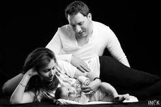 Sahar, Ali & Baby Kian - Beautiful Family Portraits.  Pune, India