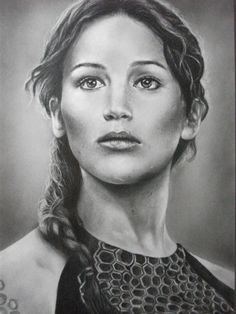 drawing of katniss everdeen - Google Search