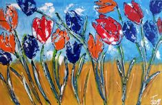 Holland, Poster Prints, Canvas, Projects, Paintings, Index, Tulips, Idea Paint, Wall Canvas
